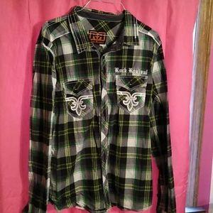 Rock Revival button up shirt